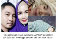 Pria Ini Curhat Setelah Istrinya Meninggal Lahirkan Anak Kedua, Fotonya Masih Tersenyum 2